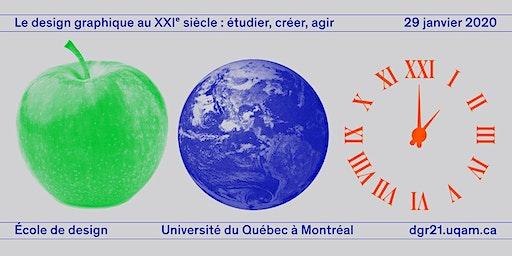 LE DESIGN GRAPHIQUE AU XXIe SIÈCLE : ÉTUDIER, CRÉER, AGIR