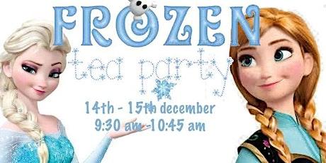 Elsa and Anna tea party tickets