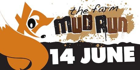 The Farm Mud Run - Basildon -14 June 2020- Session 2 - 11.00am to 1:00pm tickets