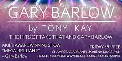 Gary Barlow by Tony Kay. The Hits of Take That and Gary Barlow