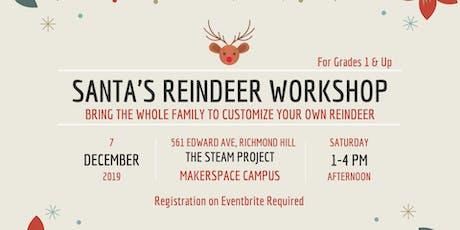 Santa's Reindeer Workshop tickets