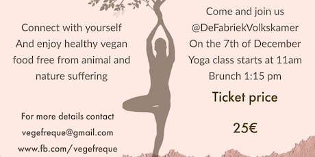 Pagan yoga and Vegan brunch tickets