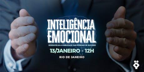 [RIO DE JANEIRO/RJ] Palestra Gratuita - INTELIGÊNCIA EMOCIONAL tickets