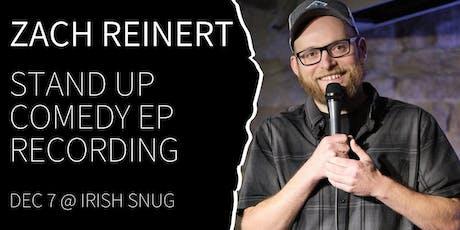 Denver Comedy Underground Zach Reinert EP Recording tickets