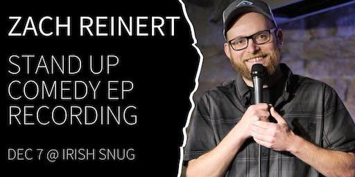 Denver Comedy Underground Zach Reinert EP Recording