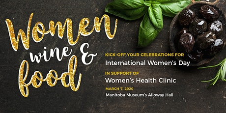 Women, Wine & Food for International Women's Day 2020 tickets