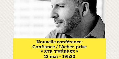 STE-THÉRÈSE - Confiance / Lâcher-prise 15$ tickets