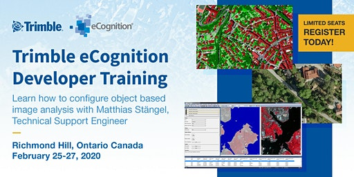 Trimble eCognition Developer Training