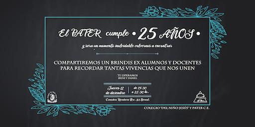 25 Aniversario PATER C.E.