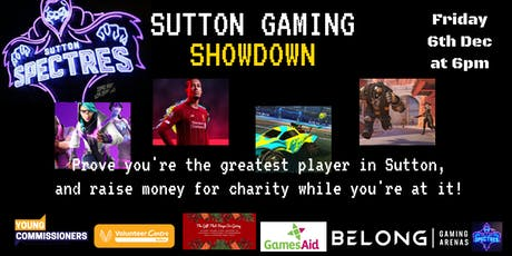 Sutton Gaming Showdown tickets