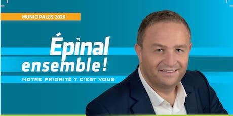 Soirée de présentation du projet Epinal Ensemble billets