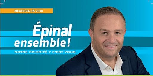 Soirée de présentation du projet Epinal Ensemble