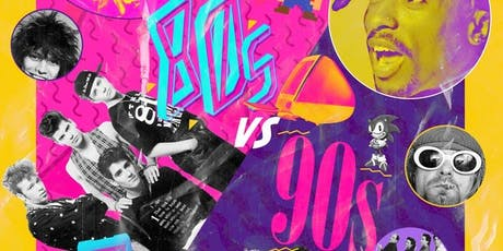 80s vs 90s Night tickets