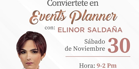 Taller conviértete en events Planner tickets
