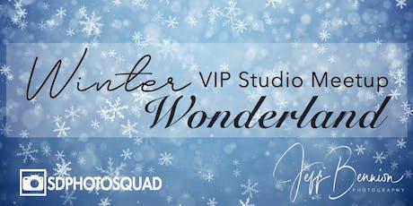 Winter Wonderland VIP Studio Meetup tickets