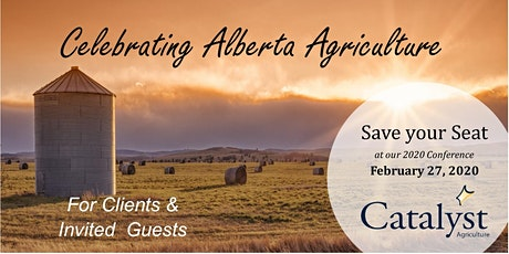 2020 Catalyst Agriculture Conference  tickets