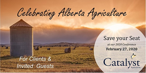 INVITE ONLY: 2020 Catalyst Agriculture Conference