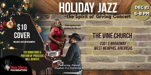 HOLIDAY JAZZ (The Spirit of Giving Concert)