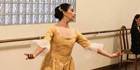 Técnica y Estilo de Danzas sociales de los S.XVII  entradas