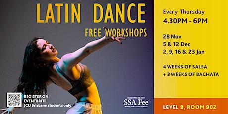 Latin Dance Workshop tickets