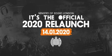 Ministry of Sound, Milkshake 2020 Relaunch tickets