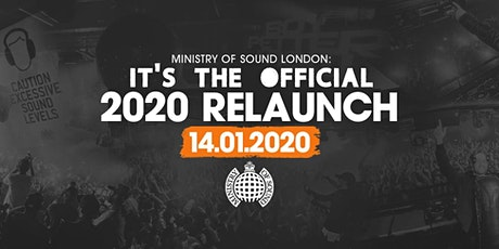 Ministry of Sound, Milkshake 2020 Relaunch tickets