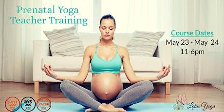 Prenatal Yoga Teacher Training tickets
