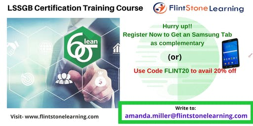 LSSGB Classroom Training in Jamul, CA