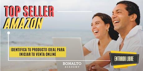 TOPSELLER AMAZON: Identifica tu producto ideal  para inicar tu venta online entradas