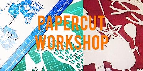 Papercut Christmas Workshop tickets