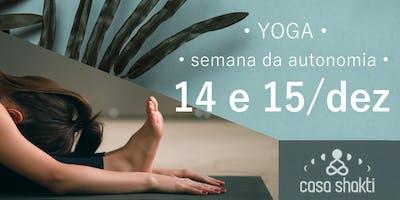Workshop para Praticantes: Como construir sua própria prática de yoga