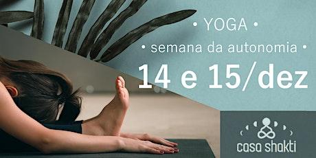 Workshop para Praticantes: Como construir sua própria prática de yoga ingressos
