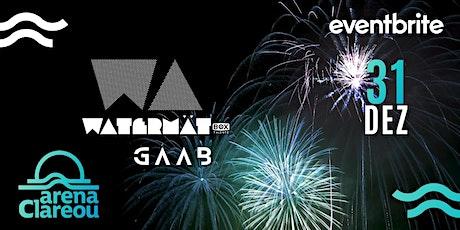 DJ Watermät + Gaab - Arena Clareou - Maresias 31.12 ingressos