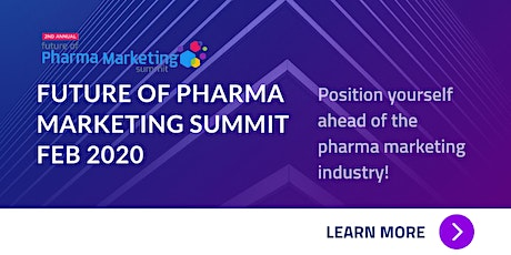 2nd Annual Future of Pharma Marketing Summit tickets