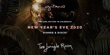 GITANO JUNGLE ROOM NYC NEW YEAR'S EVE 2020 tickets