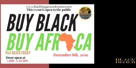 Buy Black, Buy Africa tickets