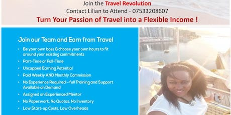 Become a UK Travel Business Owner tickets