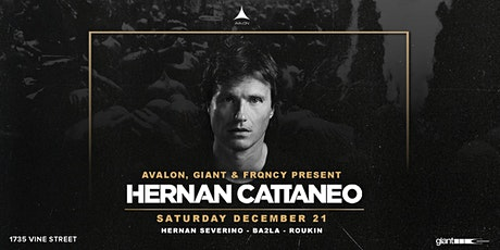 Avalon, Giant, FRQNCY Present Hernan Cattaneo tickets
