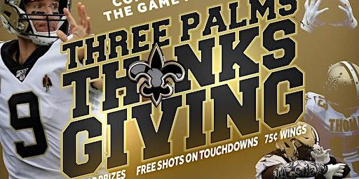 Saints vs. Falcons   Free Shot in TD