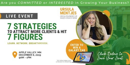 Free Event! 7 Strategies To Attract More Clients