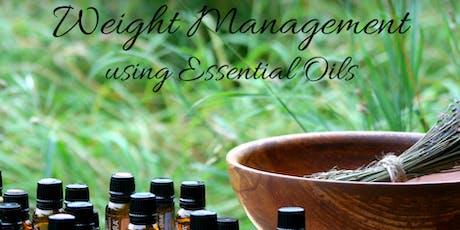 Weight Management using Essential Oils tickets