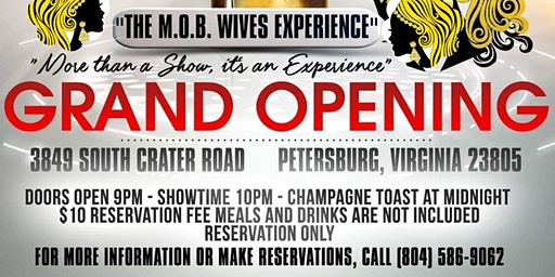 The M.O.B. Wives of Richmond New Years Eve Grand Opening