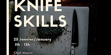 Knife Skills Workshop/Atelier billets
