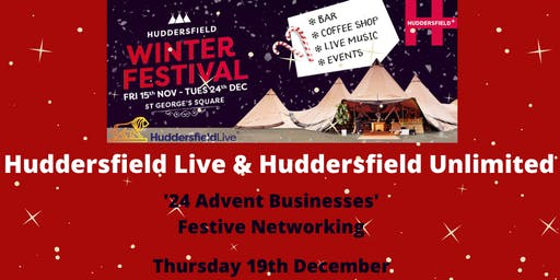 Huddersfield Live & Huddersfield Unlimited 'Networking in the Tipi'