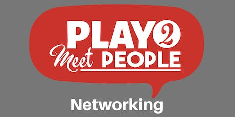 Play2MeetPeople Networking January 7 tickets