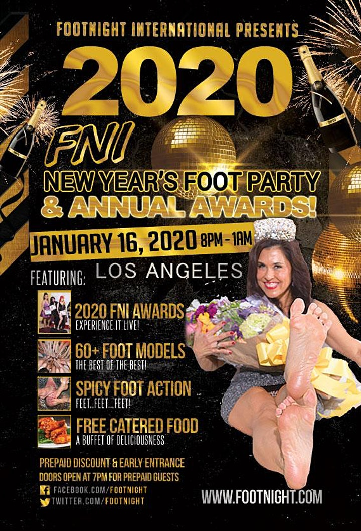 FN International  2020 New Year's Party & Award Show image