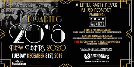 Roaring 20's - New Years 2020 - Ranchman's tickets