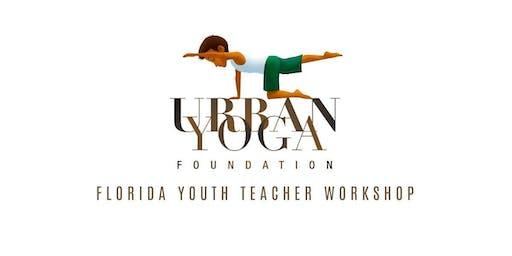Urban Yoga Florida Youth Teacher Workshop
