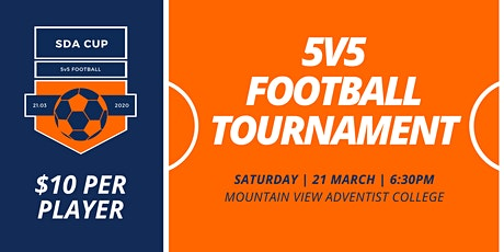 2020 SDA CUP | 5v5 Football tickets