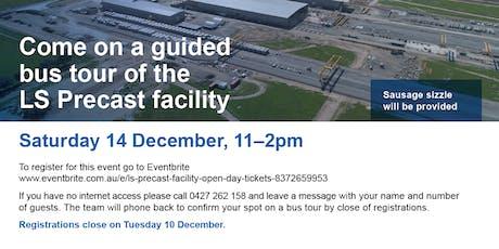LS Precast Facility Open Day tickets